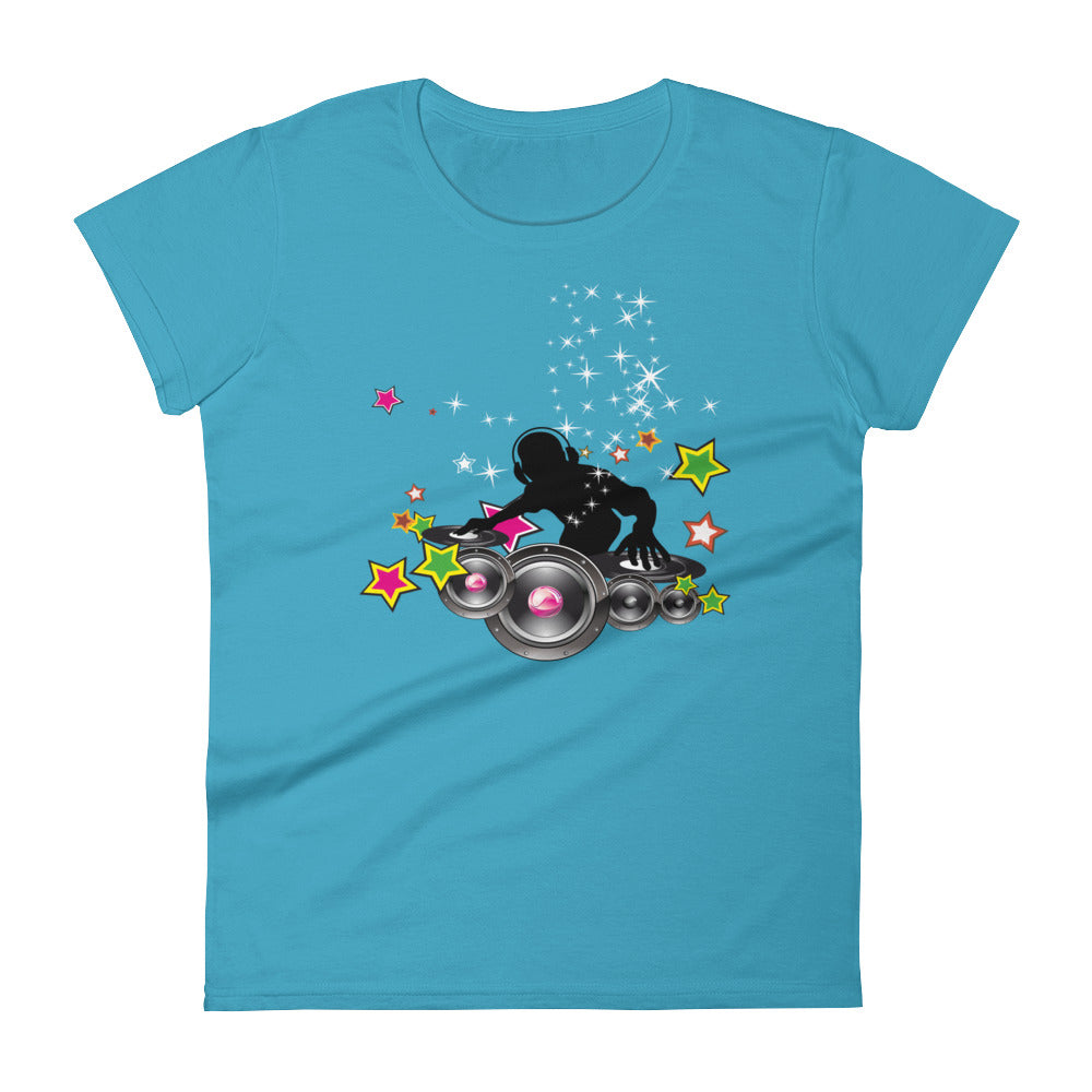 Star DJ - Women's short sleeve t-shirt