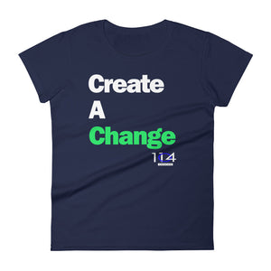 Create A Change - Women's short sleeve t-shirt