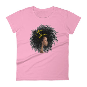 Made With Melanin - Women's short sleeve t-shirt