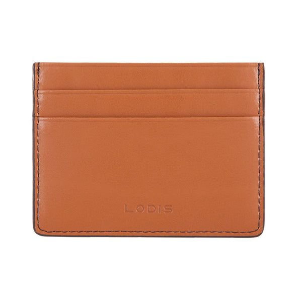 Audrey RFID Mini ID Card Case in Toffee