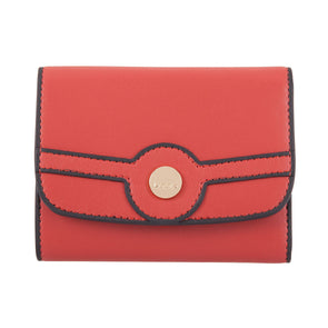 Rodeo RFID Mallory French Purse in Brick