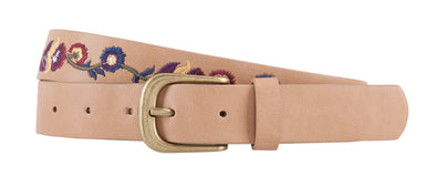 Annabelle Floral Embroidered Belt