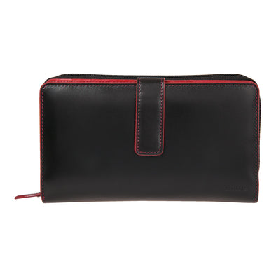 Audrey RFID Deluxe Checkbook Clutch