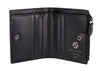 Audrey RFID Aldis Wallet in Black/Black