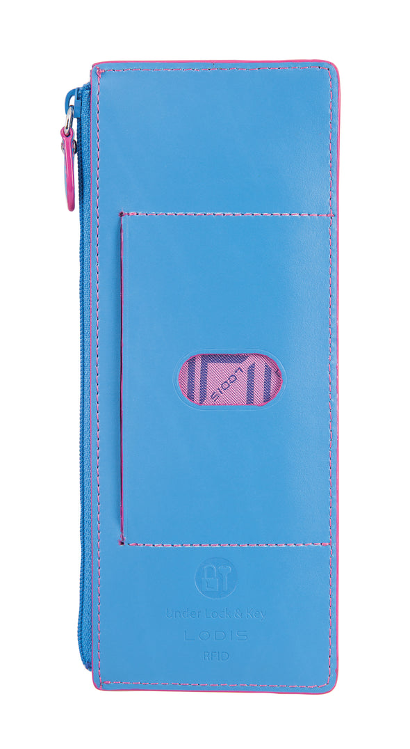 Audrey RFID Credit Card Case with Zipper Pocket SU8