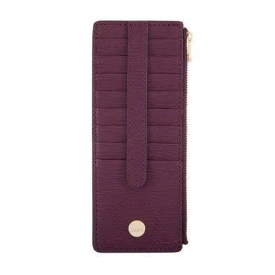 Bel Air RFID Credit Card Case with Zipper Pocket