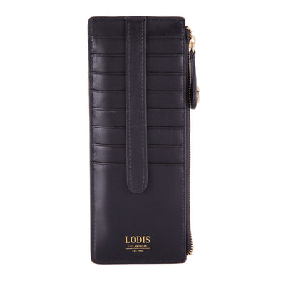 Laguna RFID Credit Card Case with Zipper Pocket
