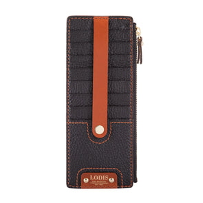 Rodeo Veg RFID Credit Card Case with Zipper Pocket