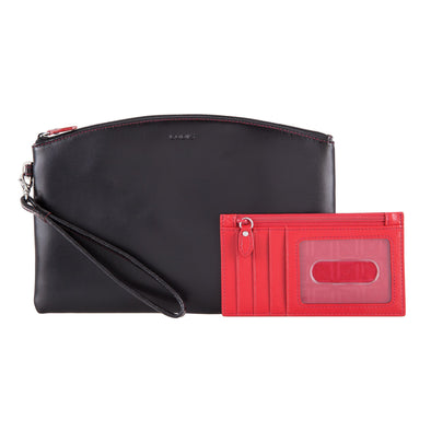 Audrey RFID Miley Wristlet w/ Removable ID Wallet