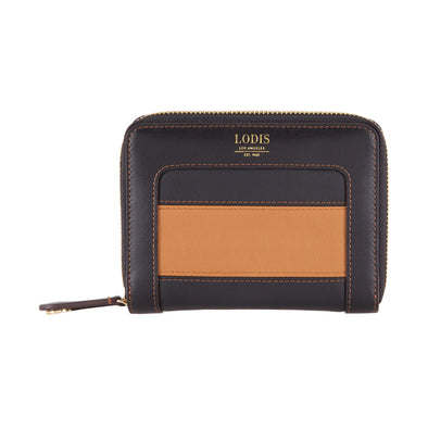 Laguna Rugby RFID Laney Continental Double Zip Wallet