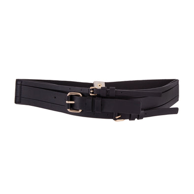 Kenwood Triple Buckle Stretch Belt
