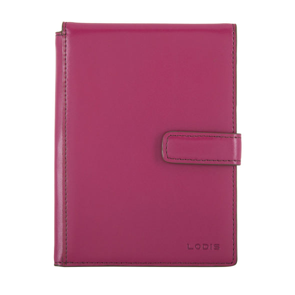 Audrey RFID Passport Wallet With Ticket Flap F8