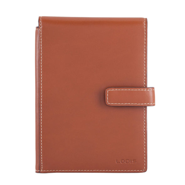 Audrey RFID Passport Wallet With Ticket Flap