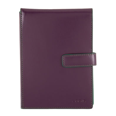 Audrey RFID Passport Wallet With Ticket Flap F9