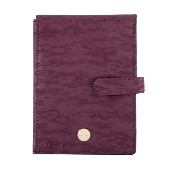 Bel Air RFID Passport Wallet With Ticket Flap