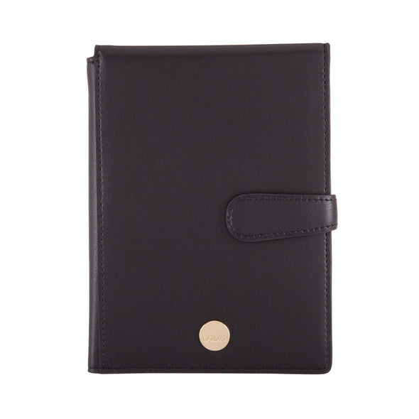 Rodeo RFID Passport Wallet With Ticket Flap in Brick