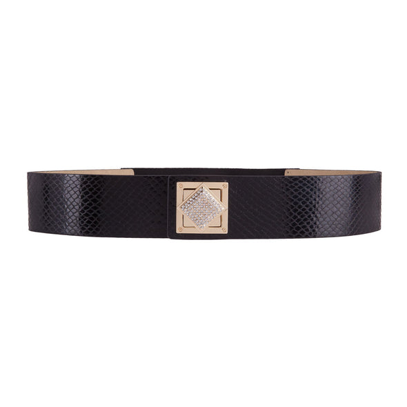 Kenwood Crystal Turnlock Waist Stretch Belt