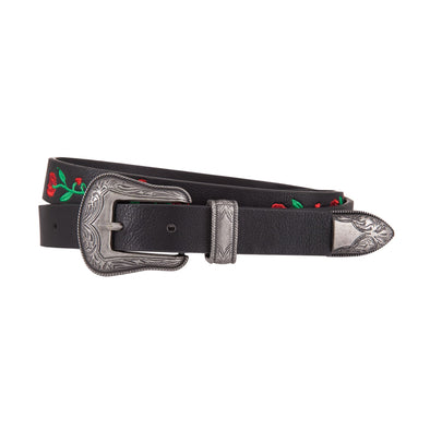 Anna Rose Embroidered Belt