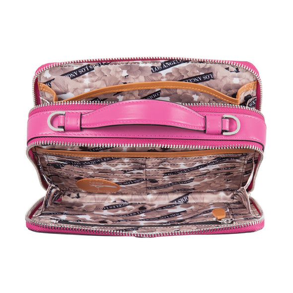 Rodeo Chain RFID Sally Zip Around Crossbody