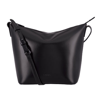 Audrey RFID Camilla Bucket Crossbody in Black/Black