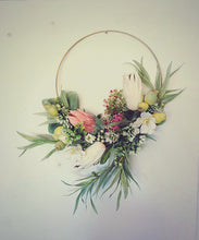 Load image into Gallery viewer, Faith - Flower hoop