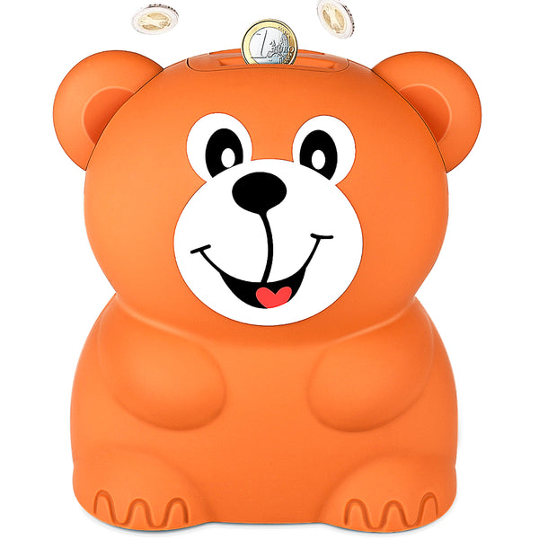 Brown Bear Coin Bank