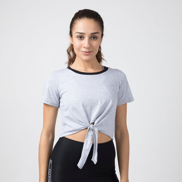 Tie A Knot Cropped Top