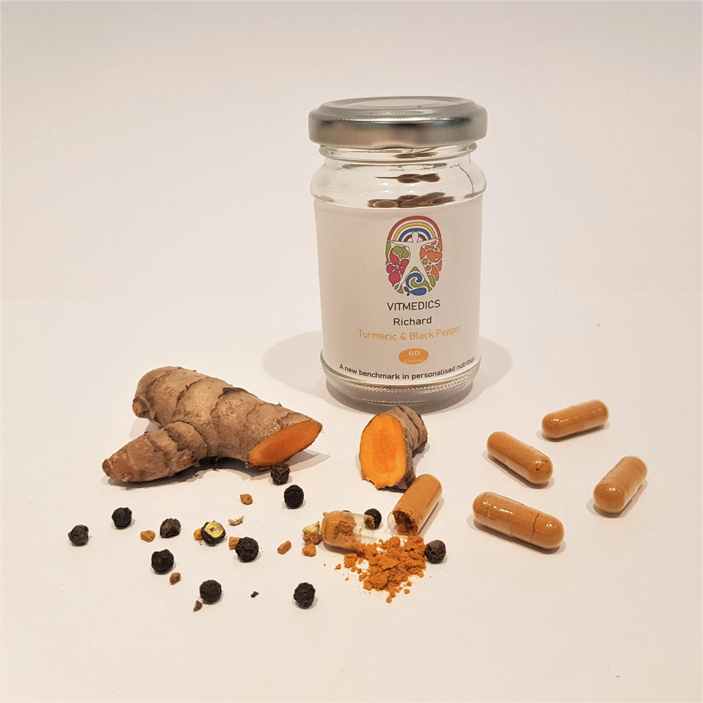 Turmeric and Black Pepper Capsules - VitMedics
