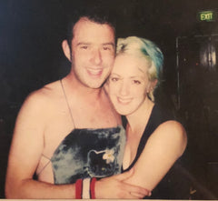 Stew and Jen in Sydney, Australia 2000