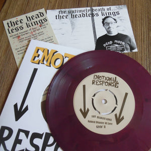 Thee Headless Kings - The Untimely Death Of... 7""