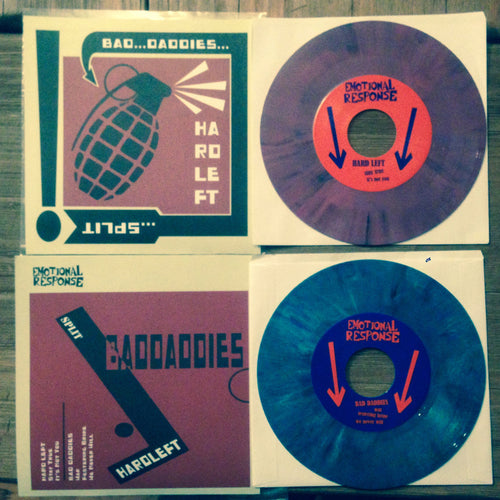 Bad Daddies / Hard Left - split 7
