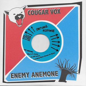 Enemy Anemone / Cougar Vox - split 7""