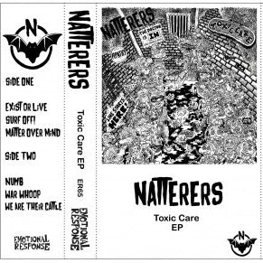 Natterers - Toxic Care EP cassette