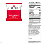 120 Serving Breakfast Bucket:  Apple Granola Multigrain + 25 Yr - Deal Changer