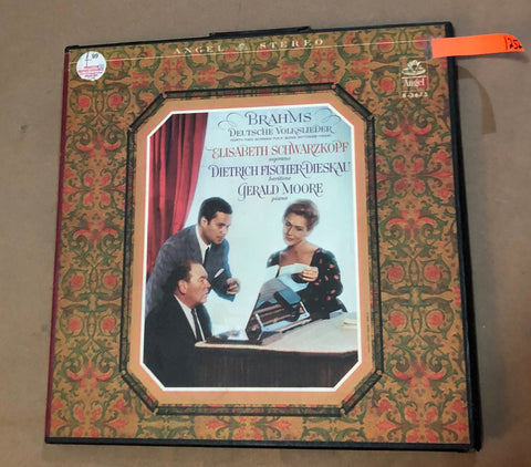 BRAHMS DEUTSCHE VOLKSLIEDER - 42 GERMAN FOLK SONG SETTINGS (1894) LP VINYL SB-3675 - Deal Changer
