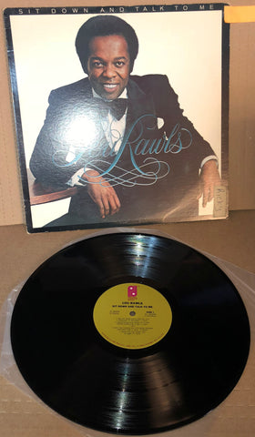 "SIT DOWN AND TALK TO ME LOU RAWLS JZ 36304 LP 12"" - Deal Changer"