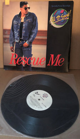 RESCUE ME - 4 MIXES AL B. SURE 21038-0 LP - Deal Changer