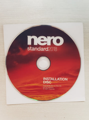 Nero Standard 2018: 4 in 1 Burning CD DVD Blu Ray *CYBER MONDAY* - Deal Changer