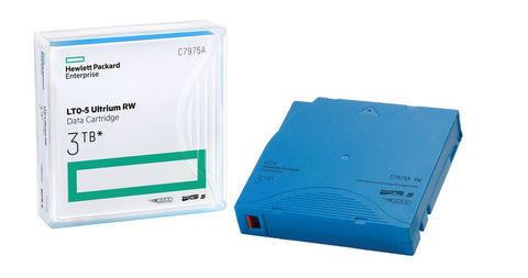 HP 3TB LTO-5 Ultrium RW Data Backup Cartridge (Light Blue) - Deal Changer