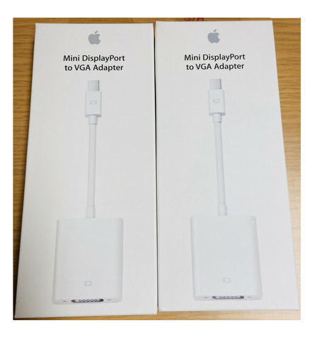 Apple A1307 Mini DisplayPort to VGA Set of 2 Video Adapters - Deal Changer