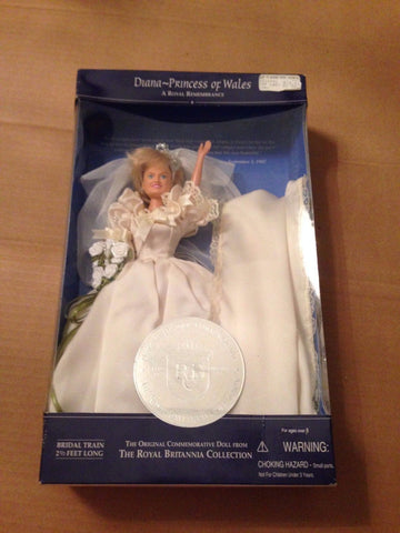 Diana - Princess of Wales A Royal Remembrance Doll - New Factory Packaged #5010 - Deal Changer