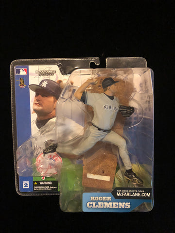 ROGER CLEMENS New York Yankees Series 2 McFarlane Action Figure - Deal Changer