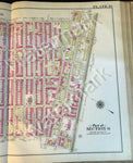 Vintage Antique Brooklyn Original Map 1908 Plate 19 Part Sections 6 Stuyvesant Throop Utica Ave+ - Deal Changer