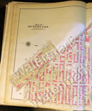 Antique Brooklyn Map 1908 Bushwick Broadway Hamburg Linden Myrtle Irving Wyckoff Gates + - Deal Changer