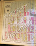 Map of Brooklyn Rare 1908 Antique Bay Ridge 4th -1st Ave New York Bay 60-38th st - Deal Changer