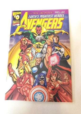 Avengers: Earth's Mightiest Heroes - Ultron Unlimited - Wizard #0 - Deal Changer