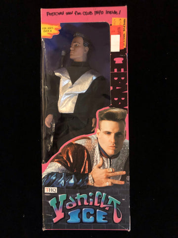 Vanilla Ice Doll 1991 THQ - Sealed Factory Packaged - #9001 - Deal Changer