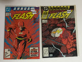The Flash: Annual #1 & 2 1988 Comic Book - Deal Changer