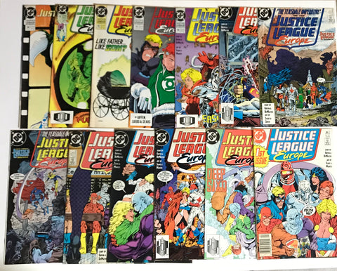 Justice League Europe Comic Book Lot: 1-14 1983 - Deal Changer