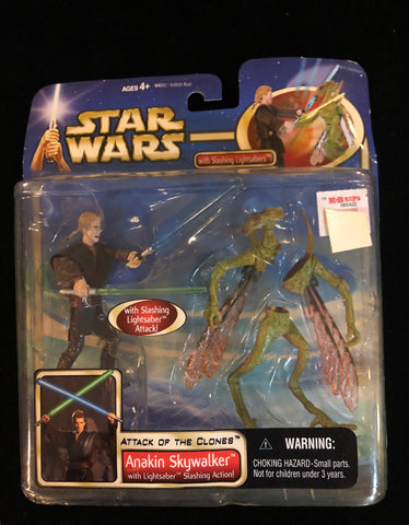 Star Wars: Anakin Skywalker AOTC Slashing Action Geonocian - Deal Changer